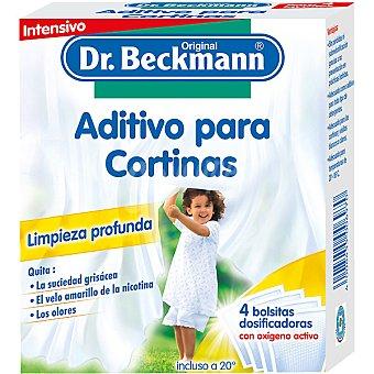 Dr. Beckmann Aditivo de lavado en polvo con oxigeno activo especial para cortinas Envase 160 g