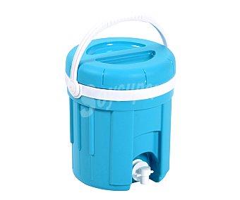 EDA Bidón isotérmico con grifo, color azul, 4 litros de capacidad EDA 4l. 1u