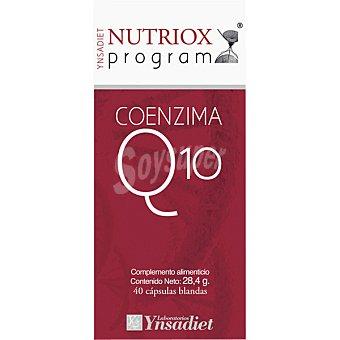 NUTRIOX Xoenzima Q10 antioxidante y cardioprotector 40 cápsulas (bote 28 g)