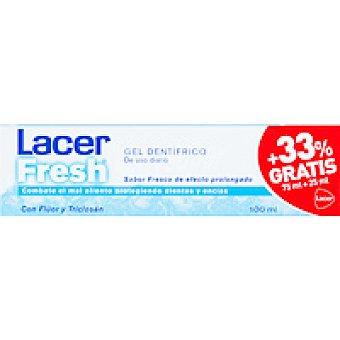 Lacer Dentífrico Fresh gel Tubo 75 ml