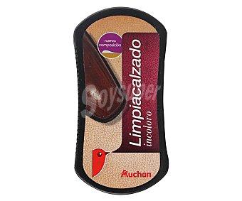 Auchan Esponja para limpiar especial calzado incoloro 1 ud