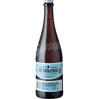 ER BOQUERÓN Cerveza rubia de Valencia botella 75 cl Botella 75 cl