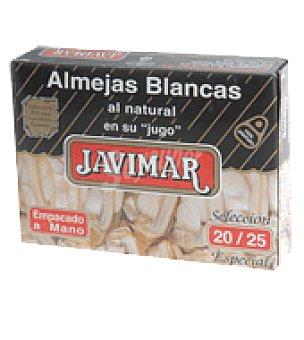 Javimar Almejas natural 20/25 piezas 65 g