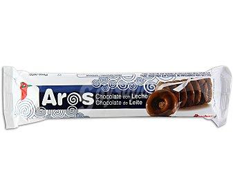 Auchan Galletas aros de chocolate con leche Paquete de 150 gramos