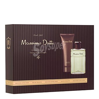 Massimo Dutti Estuche colonia vaporizador + after 1 ud