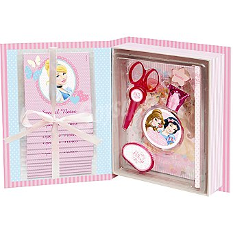 DISNEY estuche de colonia infantil Princess Book con eau de toilette + accesorios de escritorio spray 50 ml