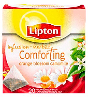 Lipton Infusión Lipton camomila naranja 20 pirámides 20 ud