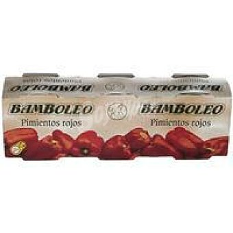Bamboleo Pimiento rojo Pack 3x240 g