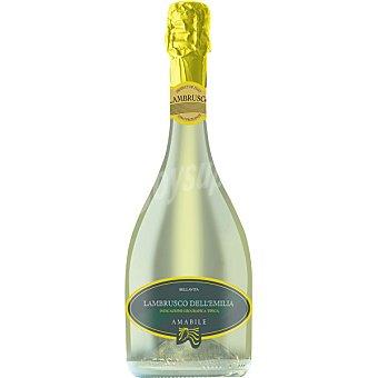 Bellavita vino blanco amabile Lambrusco dell'Emilia Italia  botella 75 cl