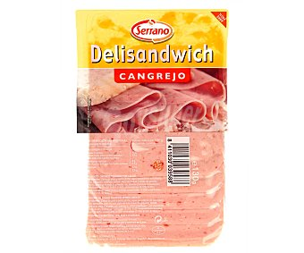 Serrano Delisándwich de Cangrejo en Lonchas 130 Gramos
