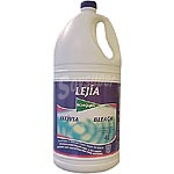 El Corte Inglés Lejía lavadora Botella 4 l