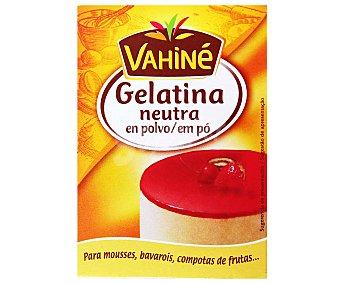 Vahiné Gelatina neutra en polvo Envase 18 g