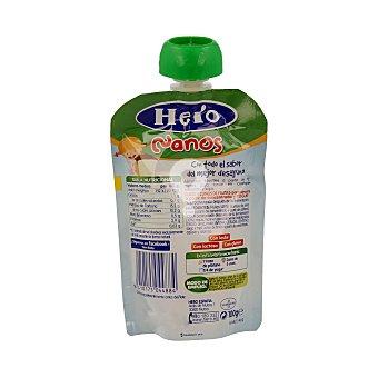 Bolsita de yogur con bizcocho Kikirikí Desayuno Nanos