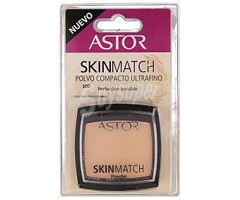 Astor Polvo compacto ultrafino nº 200 ideal para pieles claras 1u