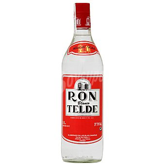 Telde Ron blanco Botella 1 l