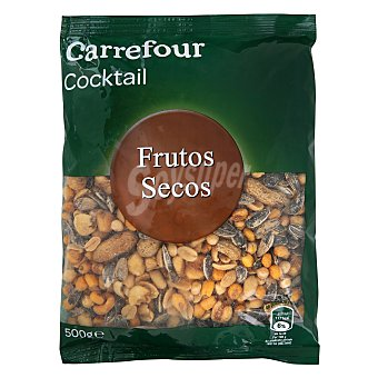 Carrefour Cocktail de frutos secos 500 g