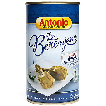 Antonio Berenjenas de Almagro aliño suave con aceite de oliva 100% natural Lata 420 g