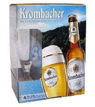 Krombacher Cerveza Pack de 4x33 cl