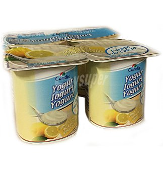 Condis Yogur sabor limon 4 UNI