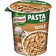 Pasta pot espirales con salsa de setas Tarro 70 gr Knorr