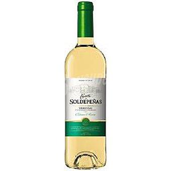 Castillo Soldepeñas Vino blanco D.O. Valdepeñas Botella 75 cl