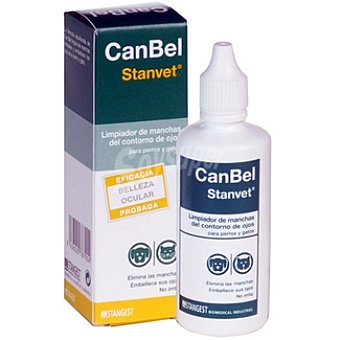 Stangest canbel Limpiador de manchas del contorno de los ojos para perros y gatos Envase 1 unidad