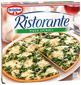 Ristorante Dr. Oetker Pizza de espinacas Caja 390 g