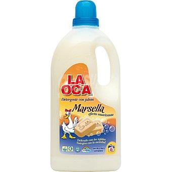 La Oca Detergente maquina liquido al jabon de Marsella efecto suavizante botella 3 l Botella 3 l