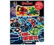 Los vengadores, mini libro aventuras, Género infantil. editorial marvel. Marvel