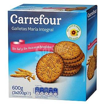 Carrefour Galletas María sin sal y sin azúcar 600 g