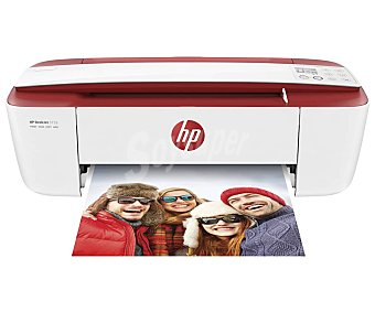 HP Impresora multifunción deskjet 3733, wifi, imprime, copia y escanea wifi, imprime, copia y escanea