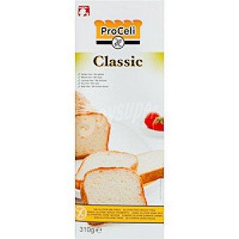 Proceli Pan de molde clasic sin glúten Paquete 310 g