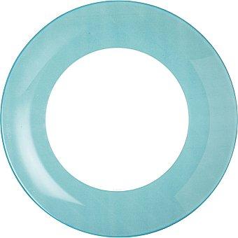 LUMINARC Plato hondo 20,5 cm en color azul 1 Unidad