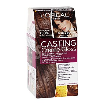 L'Oréal Paris Tinte rubio oscuro nº 600 Casting Crème Gloss 1 unidad