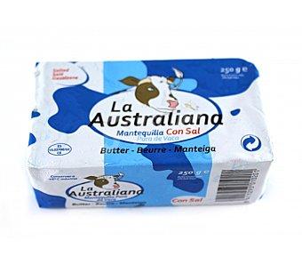 LA AUSTRALIANA Mantequilla con Sal 250 Gramos