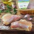 Contramuslo pollo sin piel 600.0 g. aprox Calidad y Origen Carrefour