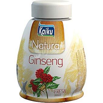 Kaiku Yogur líquido natural especial con ginseng y fresa Envase 200 g