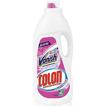 Colón detergente máquina líquido gel con agentes Vanish quitamanchas  botella 19 dosis