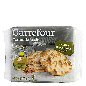Carrefour Tortas de aceite Pack de 6x30 g
