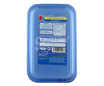 Auchan Palitos de bacalao desalado ,auchan, 300 gramos