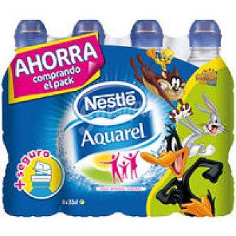 Agua Minera lAQUAREL Pack Ahorro 8 X 0,33 L