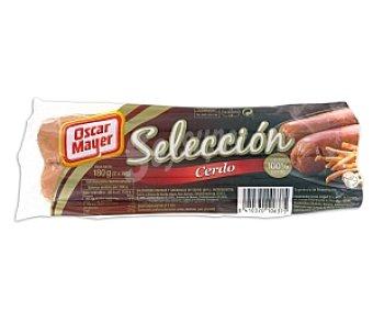 Oscar Mayer Salchichas cerdo Selección 180 Gramos