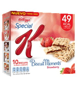 Special K Kellogg's Biscuit moments fresa Pack de 10x25 g