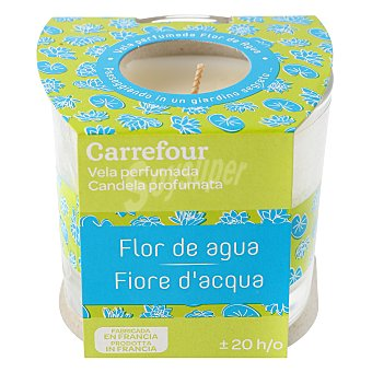 Vela perfumada Flor de agua Carrefour 1 ud