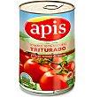 Tomate natural triturado Lata 400 g peso neto Apis