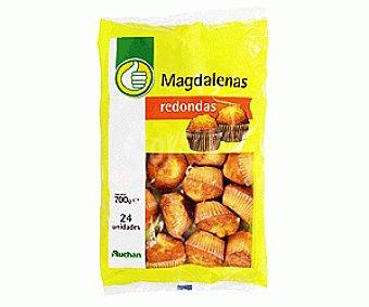 Productos Económicos Alcampo Magdalenas Redondas 700 Gramos