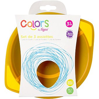 TIGEX Colors Platos marinos +3 meses blister 3 unidades
