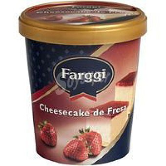 Farggi Tub¿s de Cheesecake con fresa Tarrina 500 ml
