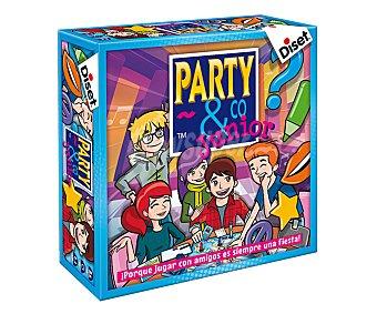 Diset Juego de mesa multiprueba Party & Co. Junior 3.0, de 3 a 20 jugadores diset party&co. Junior 3.0