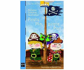 Editorial SM Pirata Plin, Pirata Plan, paloma sánchez ibarzábal. Género: infantil, editorial SM